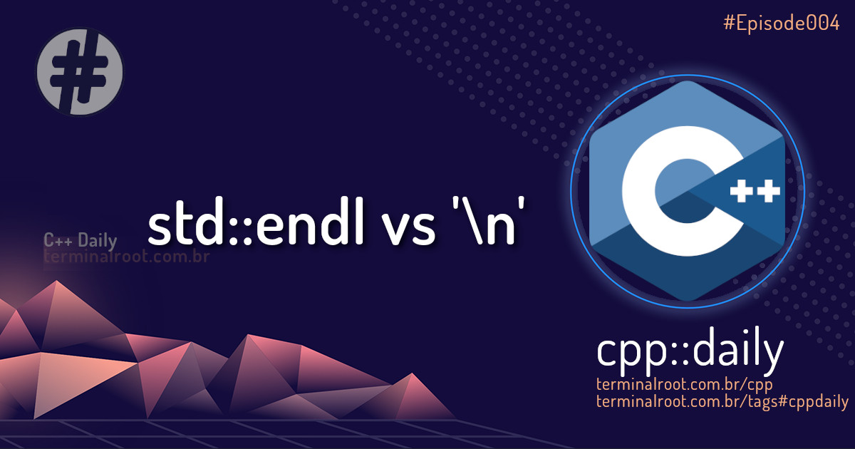 cpp::daily std::endl
