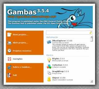 Gambas, o Visual Basic Open Source para Linux