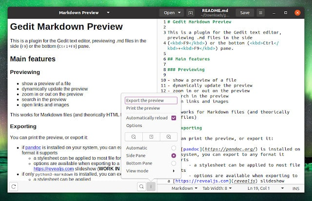 Como Visualizar Markdown no Gedit